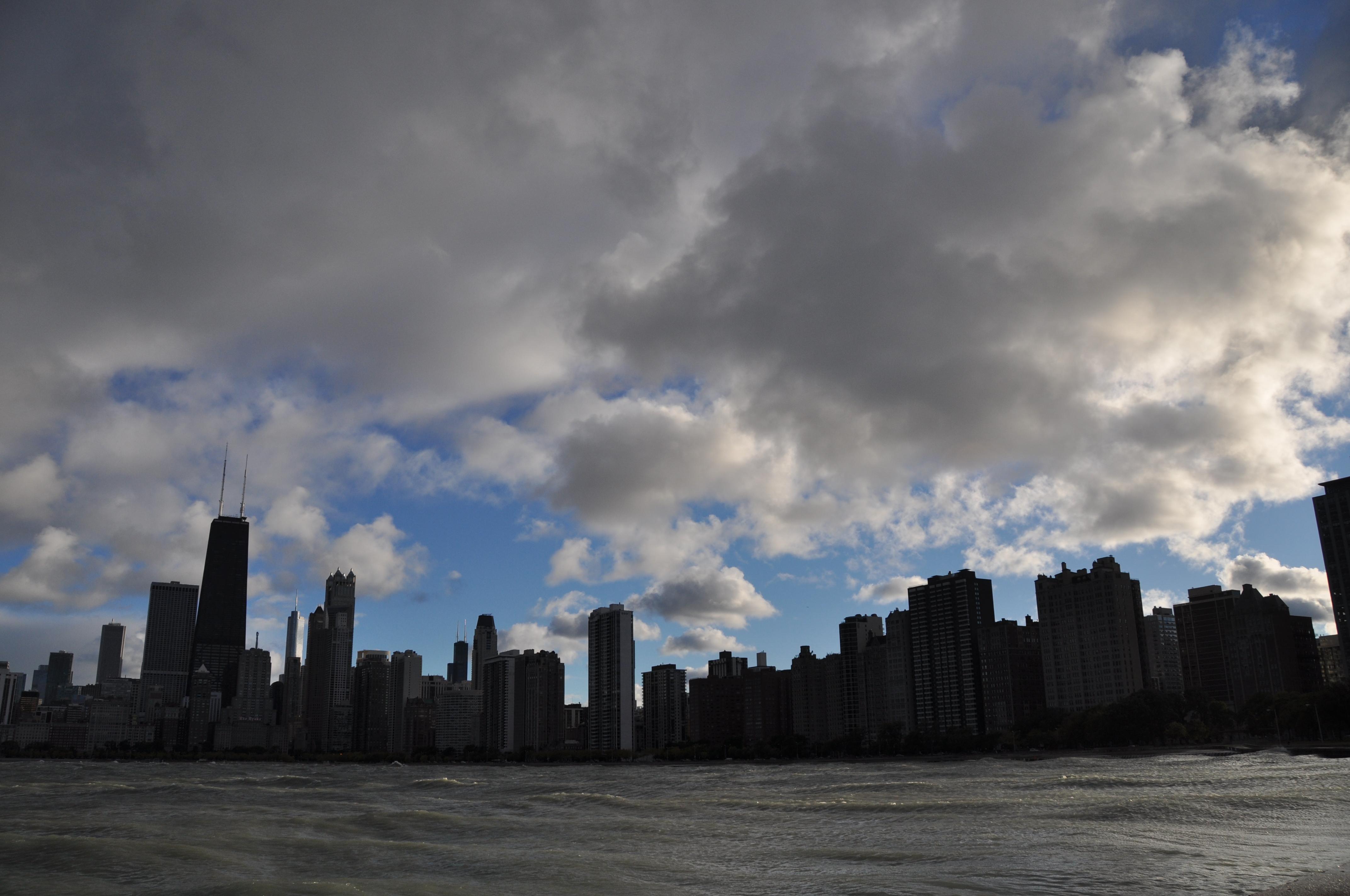 vegas skyline silhouette. skyline into a silhouette