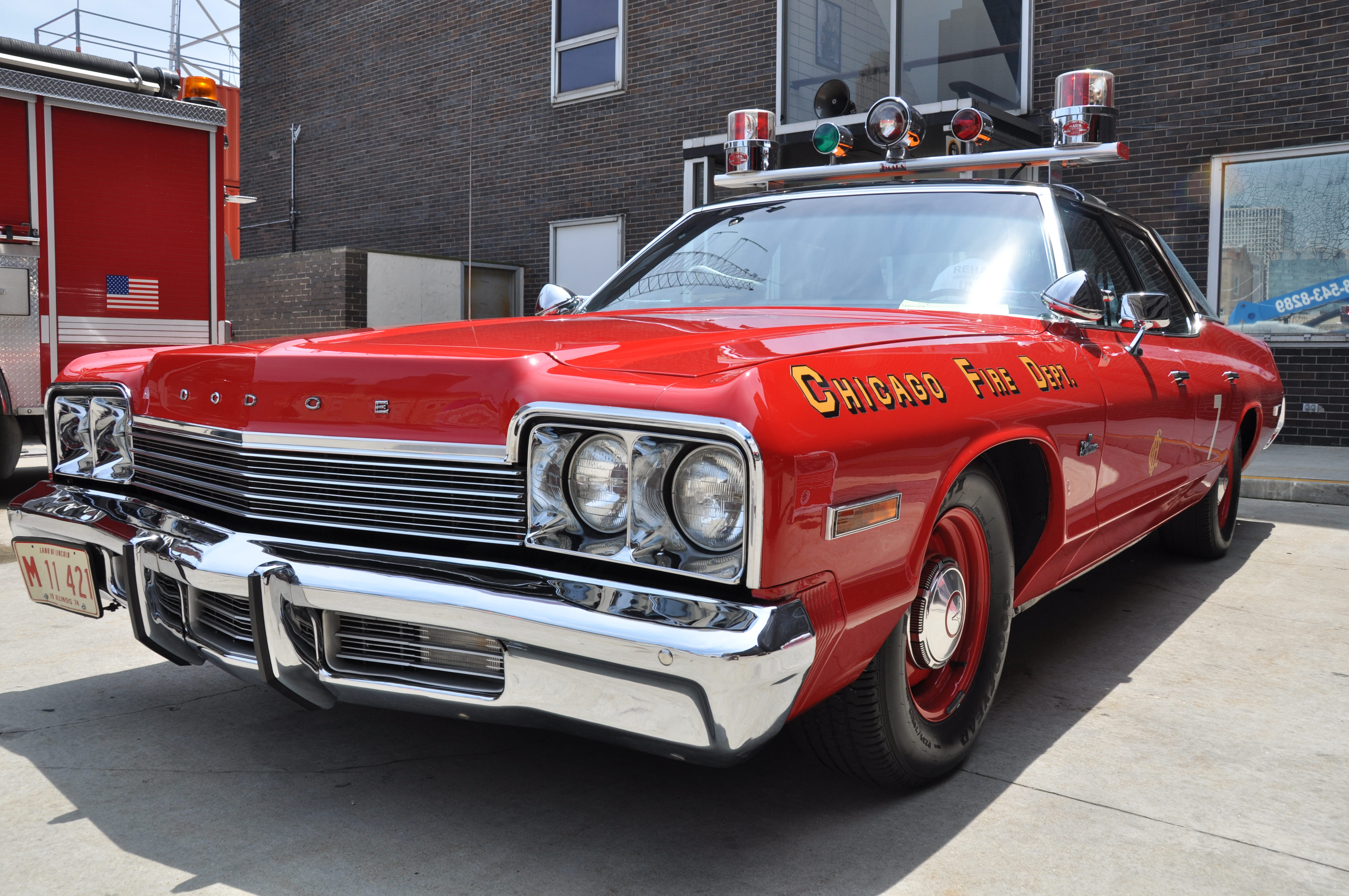 Day 185: 1974 Dodge Monaco | Showcasing Chicago One Image at a Time