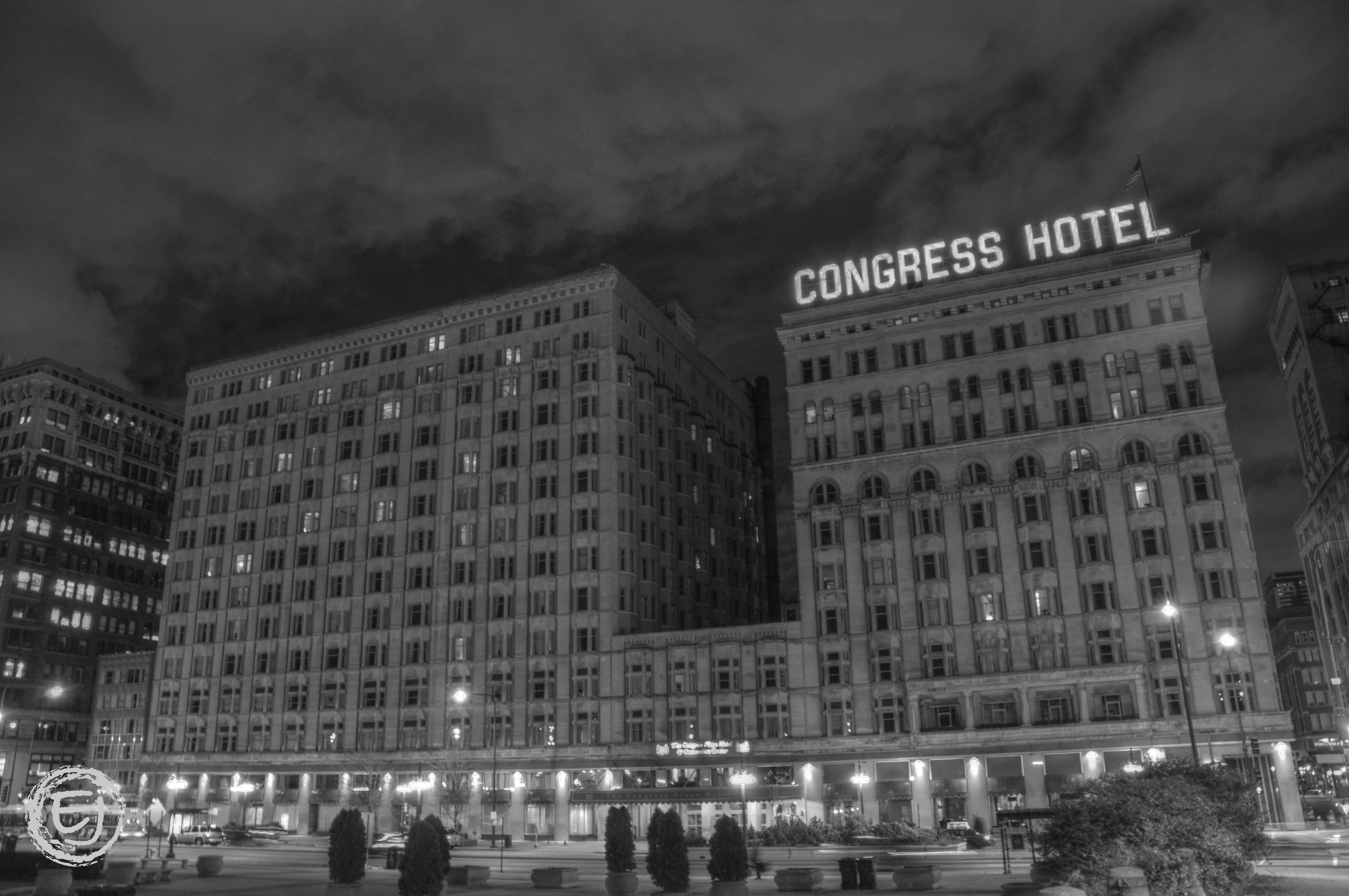 Haunted Room Congress Hotel Chicago